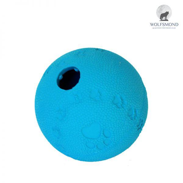 Naturgummi Snackball blau