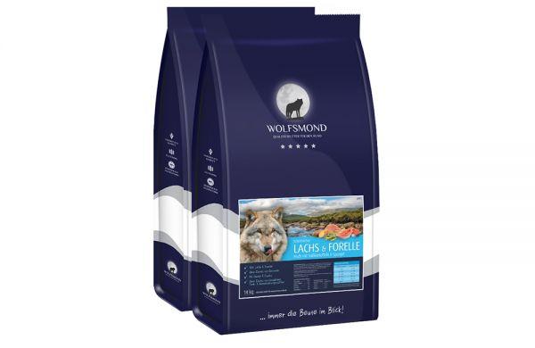 Hundefutter Lachs & Forelle 28kg